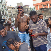 Photos Of Burnaboy And Other Top Nigerian Artistes Having Fun At Quilox Night Club, Victoria Island