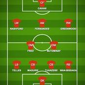 How Man u could line up against Chelsea