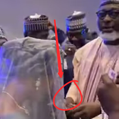See What A Northern Lawmaker Was Spotted Doing At His Friend's Wedding Dinner