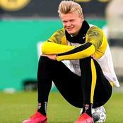 Borussia Dortmund striker Erling Haaland makes Chelsea transfer  decision