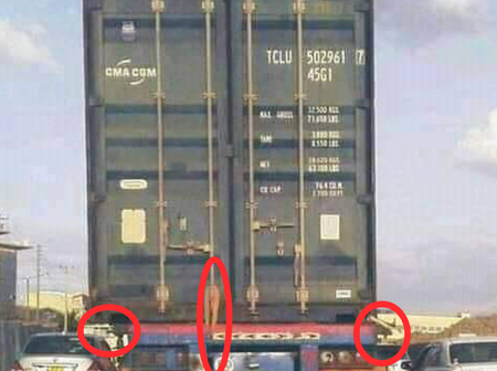 Internet reacts After This Worrying Blunder Is Spotted On This Truck