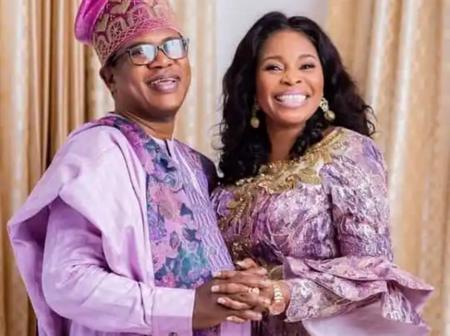 Photo:Gospel Singer, Tope Alabi Celebrates Husband's Birthday In Grand Style