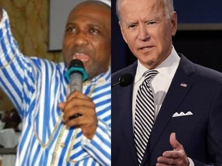 Primate Ayodele Predicts What Is Going To Happen To Joe Biden In His First Term As US President