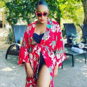 Iris from Isibaya currently left fans dumbstruck with her beautiful pictures on social media.