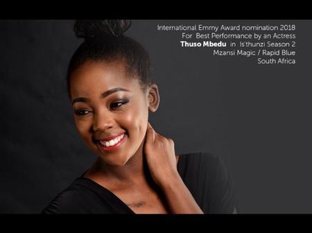 Thuso Mbedu making waves