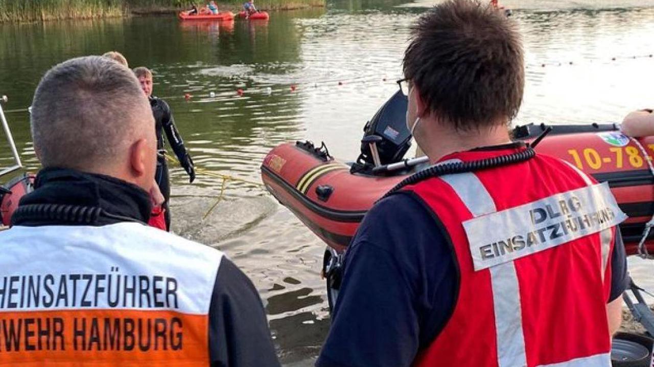 Bei Familienausflug: Badeunfall im Müssener See – 19-Jähriger ertrunken