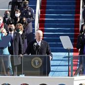 Photos As Joe Biden Takes Over As The 46th President Of The United States Of America