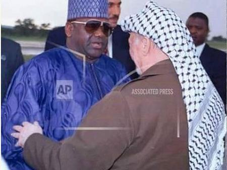 Throwback Photo Of Sani Abacha Prior To His Death