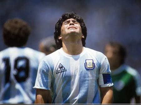 A football legend, Diego Armando dies of heart attack at 60. See his past football video.