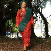 Actress Daniella Okeke Shares Stunning Pictures In Traditional Attire To Celebrate Her Birthday.