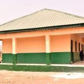 Plateau Lawmaker Commissions Block of Classrooms