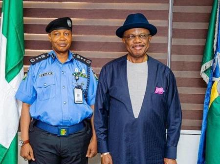 Photos As Governor Obiano Visits Acting IG of Police, Assures Ndi Anambra Of Security.