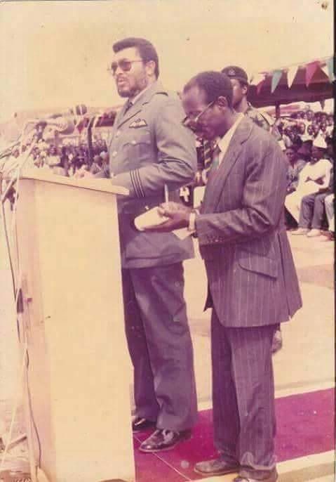 """d32d9b11d0211773df236a73189df0b3?quality=uhq&resize=720 - """"Photo Of The Day"""": 90s Photo Of JJ Rawlings And 'Alleged' Asiedu Nketiah Will Make Your Day"""