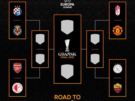 UEL: See Manchester United's Europa League semi-final possible opponents if they advance