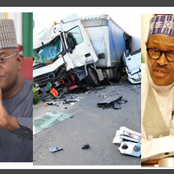 Today's Headlines: Governor's Convoy Involved In Road Accident, Yahaya Bello Visits President Buhari