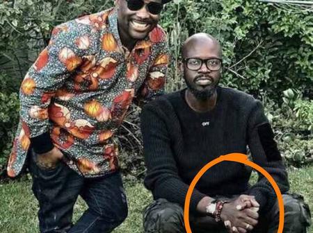 Finally DJ Black Coffee Revealed his hand - Look here