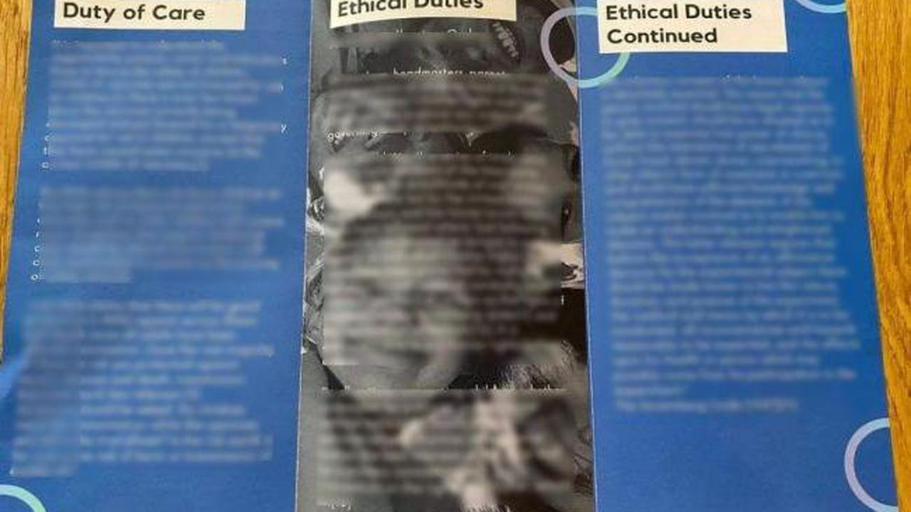 Residents advised to 'ignore' anonymous anti-vaccine leaflets