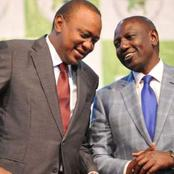 UhuRuto Reconciled? Details of Dp Ruto and Uhuru Meeting at State House (Photos)
