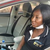 Meet This Abuja Female Uber Driver