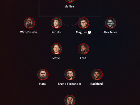 JUST IN: Manchester United Starting Lineup Vs West Brom