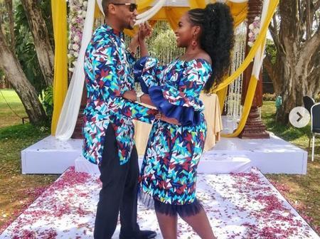 Beautiful Photos of Wahiga Mwaura And His Wife