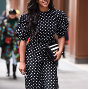 30 Lovely Vintage Polkadot Dress For Every Fashionable Woman