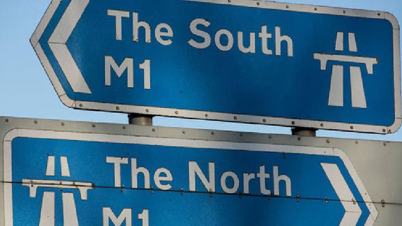 Accident closes lane on M1 near Milton Keynes this morning