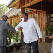 Full List of Leaders That met Uhuru at State House Today (Photos)