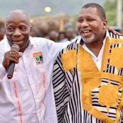 De l'hôtel président, Diomandé Bouraïma un proche de Sidiki Konaté lui apporte un soutien de taille.
