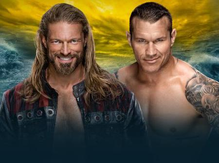 Hall of Fame Edge vs wwe superstar Orton