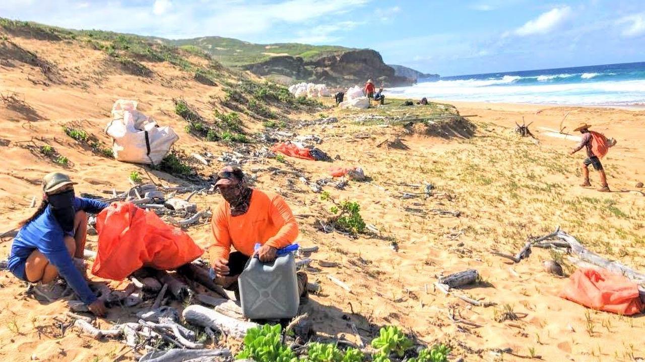 Beach cleanup Monday around PT