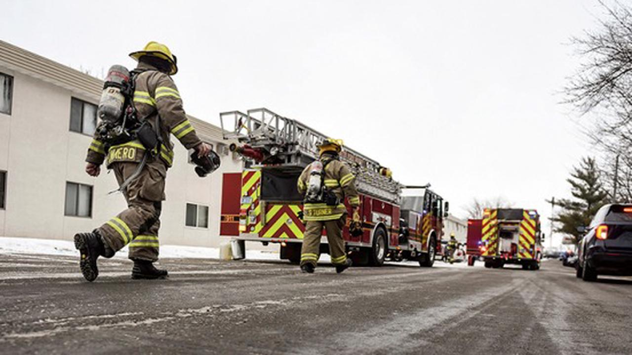 Firefighters respond to report of Campus View Apartments fire
