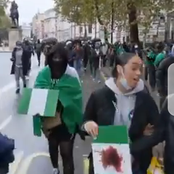 Checkout What Nigerians In London Did After Lekki Toll Gate Massacre