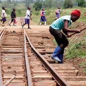Uhuru, Raila Set For Maiden Mombasa-Kisumu Train Ride (Photos)