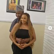 PHOTOS: Okunu 'Grabs' Jumoke Odetola At The Back, As They Set To Release New Movie