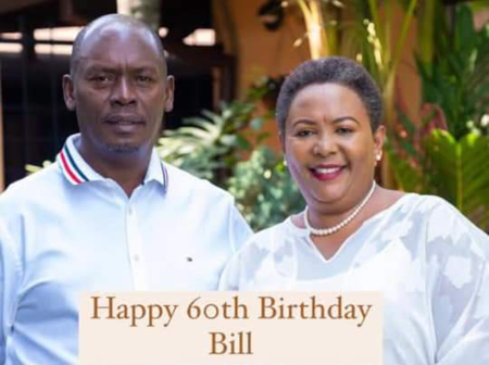 How Former Governor Kabogo Reacted To His Wife's Romantic Birthday Wish
