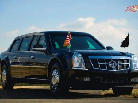 Recent US Presidents With Their Limousine Cars