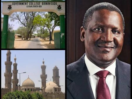 Photos Of The Government College And University Aliko Dangote Graduated From