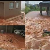 SAD|| A very nice house in Limpopo gets flooded