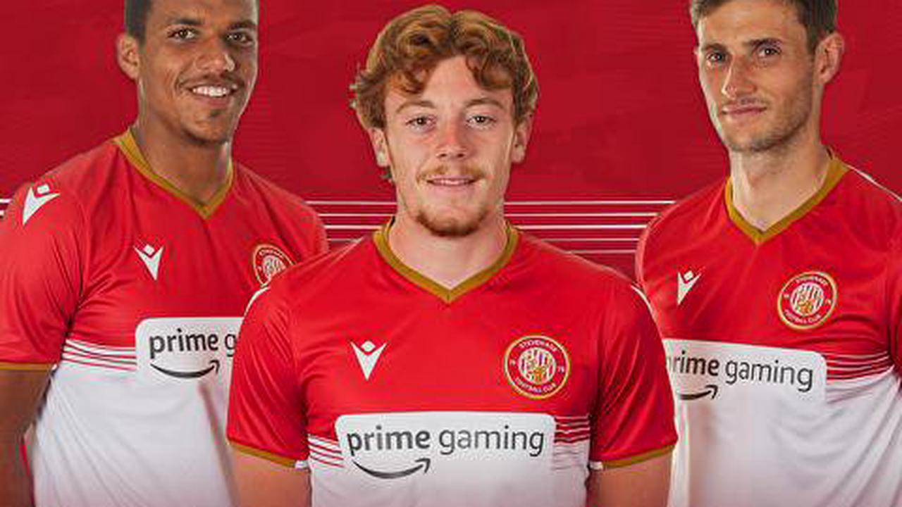 Amazon Prime Gaming signs shirt sponsorship deal with… StevenageFC
