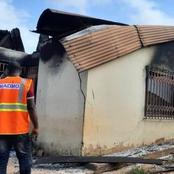 Four Including A Pregnant Mother Burnt To Death After Fire Swept Through 8-Bedroom House