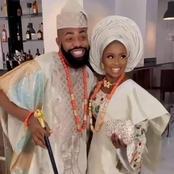 Woli Arole ties knot with his partner, Yemi. [Photos+Videos]