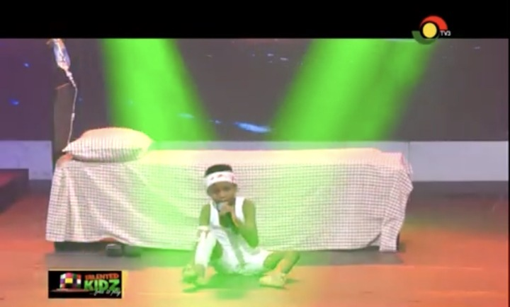 d3a24d8d2c1d456bb60d2ac9c87a2a84?quality=uhq&resize=720 - Talented Kids Contestant, Akwadaa Nyame Dumbfounds Audience After His Performance As Accident Victim