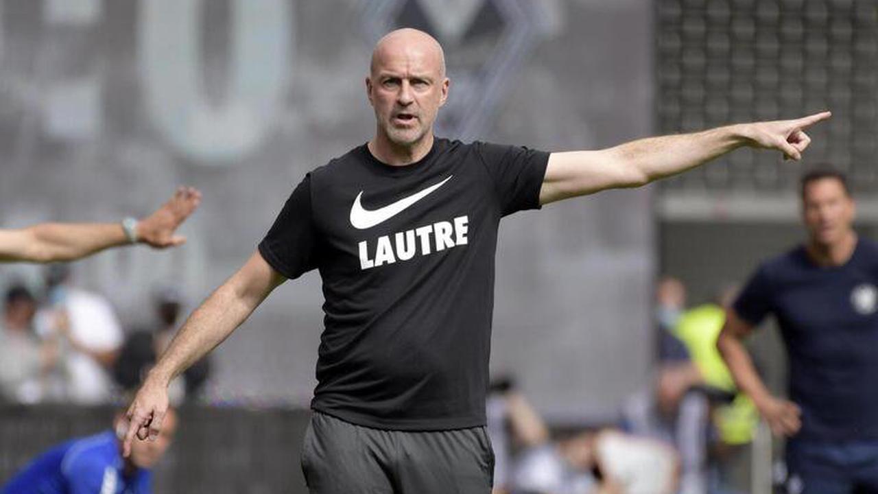 Trainer und Team stehen in Lotte beim SC Verl unter Druck
