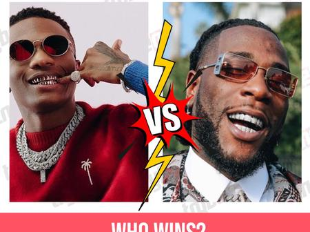Wizkid Emerges Winner Of 'Battle Of Hits' With Burna Boy, See The Complete Results