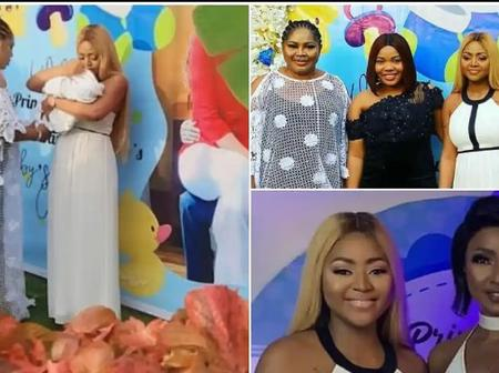 See The Amazing Gift Regina Daniel Gave To Her Mother With On Her Birthday
