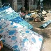 See picture: Trouble for looters as security operatives raid streets