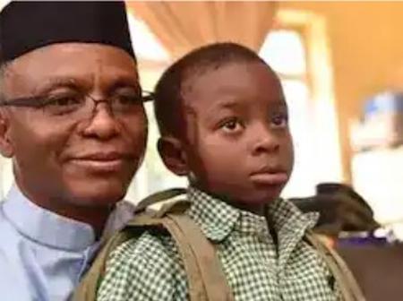 Governor El-Rufai secretly withdraws son registered in public school