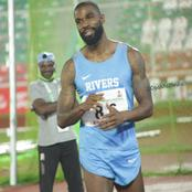 Ex BBNaija housemate, Mike Edward wins bronze medal at the ongoing National Sport festival