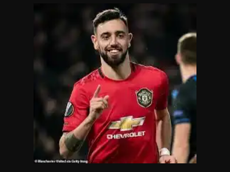 """""""He Is A Magical Midfielder"""" Check Out 'Bruno Fernandes' First 35 Games Since Joining Man United"""